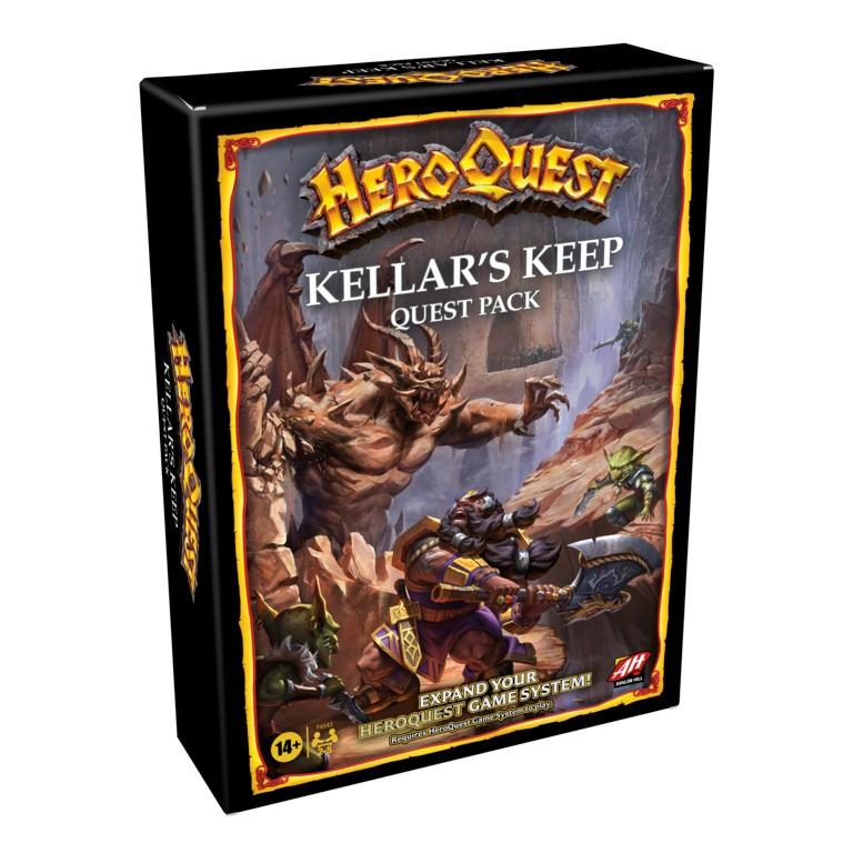 HERO QUEST: KELLAR'S KEEP - NUOVA EDIZIONE