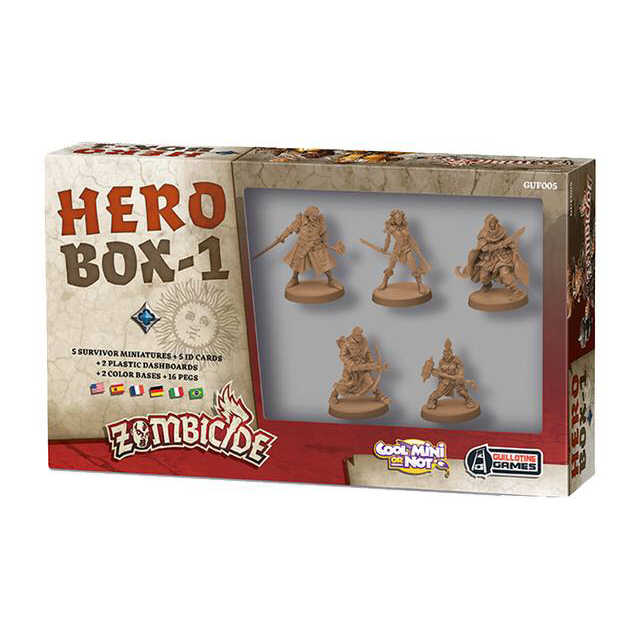 ZOMBICIDE BLACK PLAGUE: HERO BOX 1