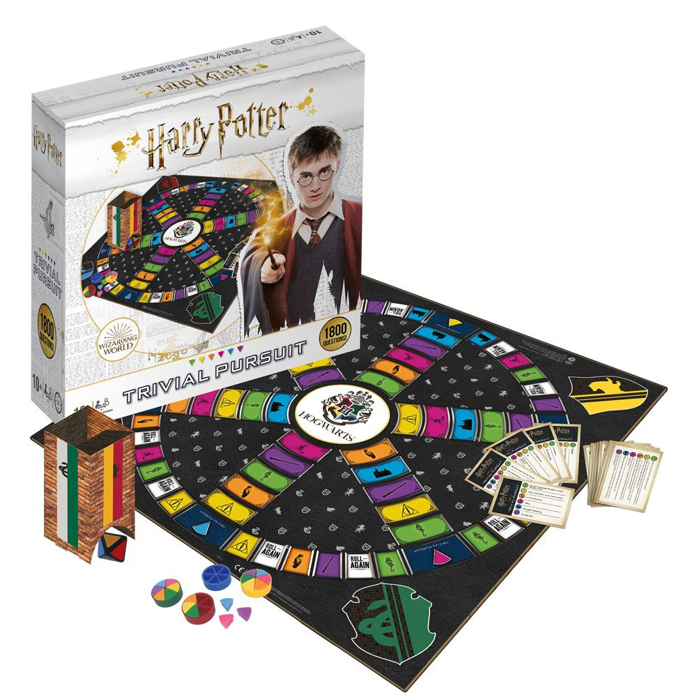 TRIVIAL PURSUIT - HARRY POTTER ULTIMATE EDITION 2019 - ITALIANO