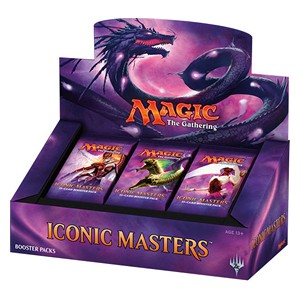 ICONIC MASTERS - BOX 24 BUSTE INGLESE