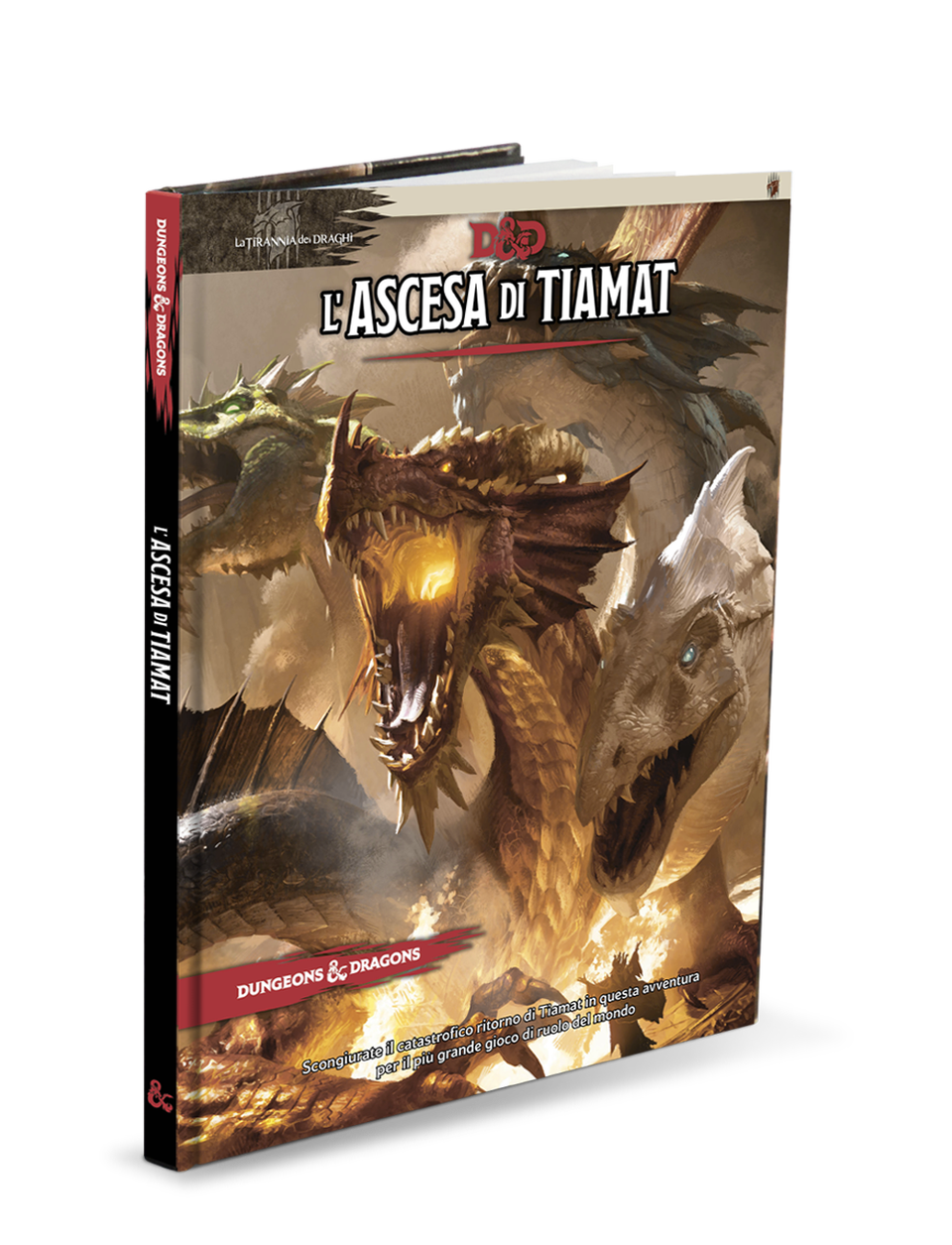 DUNGEONS & DRAGONS 5A EDIZIONE - L'ASCESA DI TIAMAT (AVVENTURA 2A PARTE)