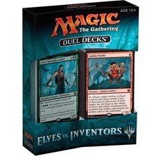 DUEL DECKS: ELVES VS INVENTORS - 1 MAZZO - INGLESE