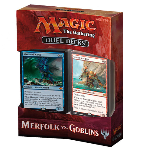 DUEL DECKS: MERFOLK VS GOBLINS - BOX 6 PZ - INGLESE