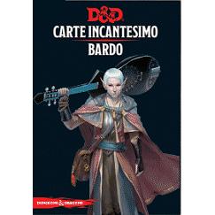 DUNGEONS & DRAGONS 5A EDIZIONE - CARTE INCANTESIMO BARDO