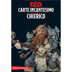 DUNGEONS & DRAGONS 5A EDIZIONE - CARTE INCANTESIMO CHIERICO