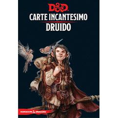 DUNGEONS & DRAGONS 5A EDIZIONE - CARTE INCANTESIMO DRUIDO