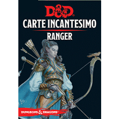 DUNGEONS & DRAGONS 5A EDIZIONE - CARTE INCANTESIMO RANGER