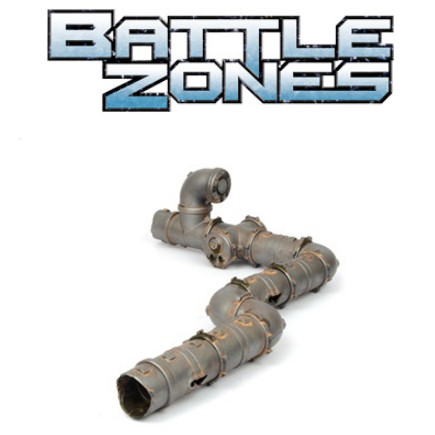 BATTLEZONES - INDUSTRIAL PIPE NETWORK