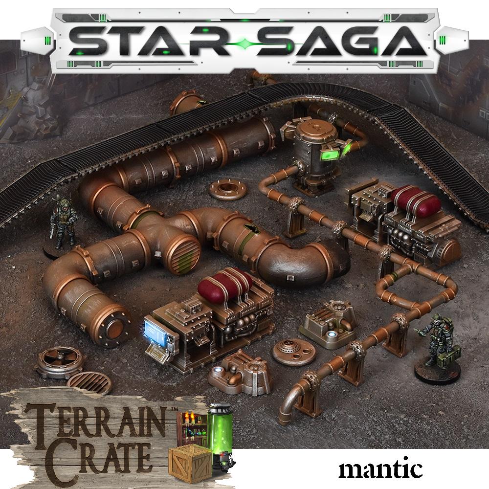 STAR SAGA - ACCESSORI INDUSTRIALI - TERRAIN CRATE