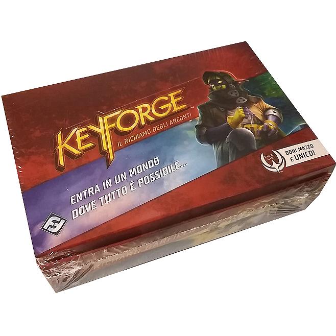 KEYFORGE - IL RICHIAMO DEGLI ARCONTI : BOX 12 MAZZI