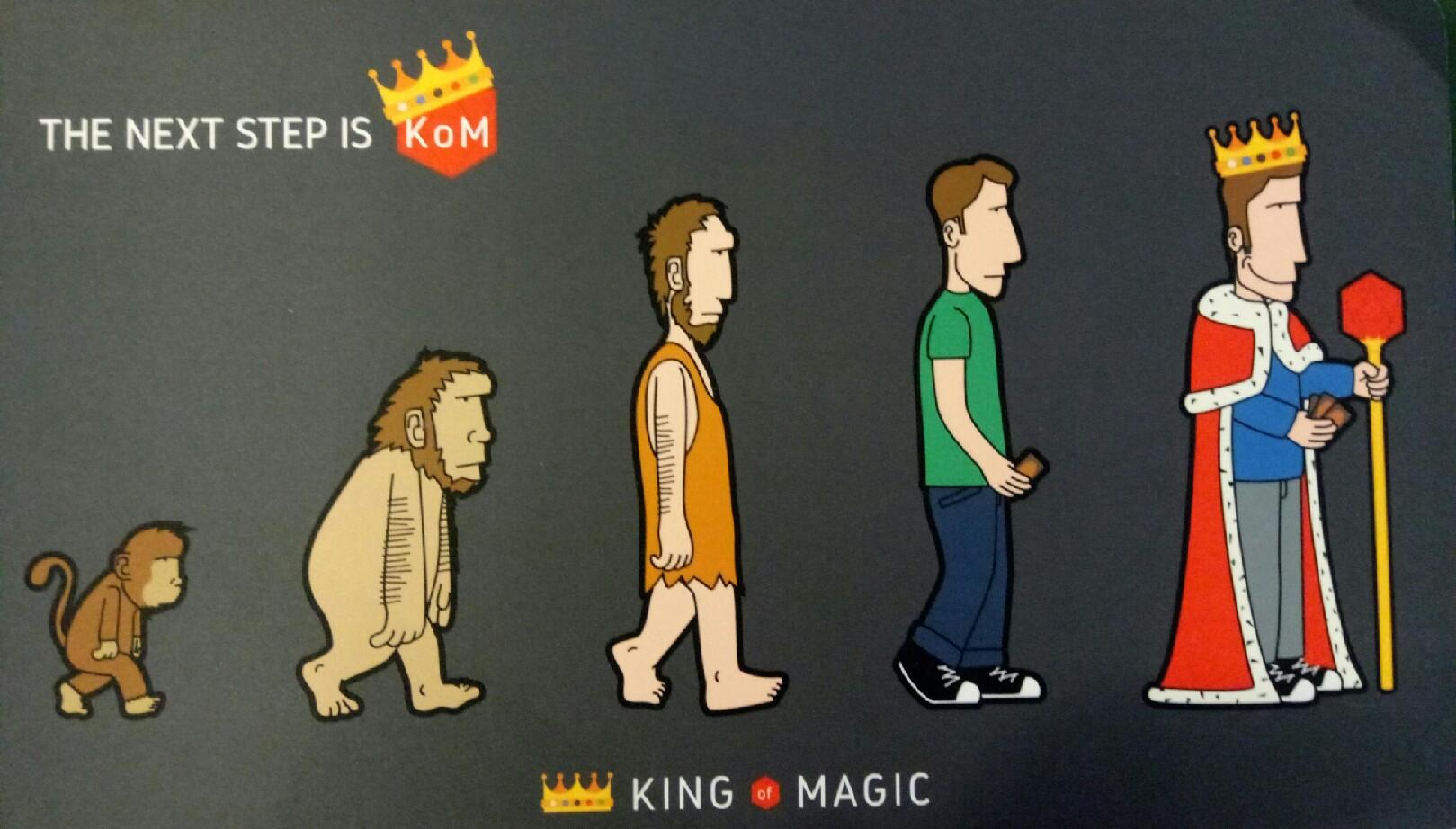 TAPPETTINO KING OF MAGIC