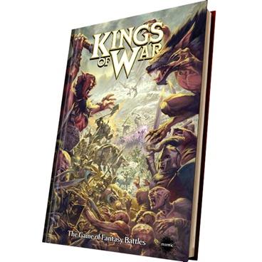 KINGS OF WAR REGOLAMENTO 2A EDIZIONE COPERTINA RIGIDA - INGLESE