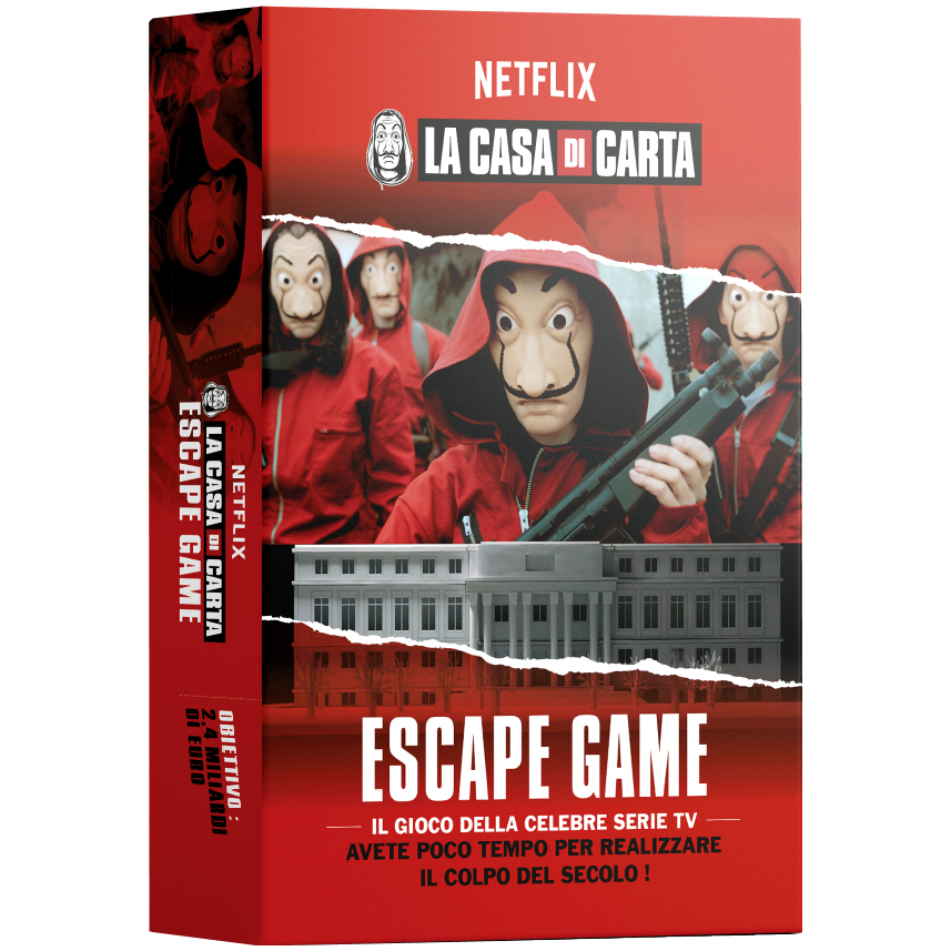 LA CASA DI CARTA - ESCAPE GAME