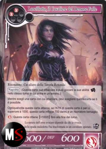 LANCILLOTTO, IL CAVALIERE DEL DEMONE FOLLE - FOIL FULL ART