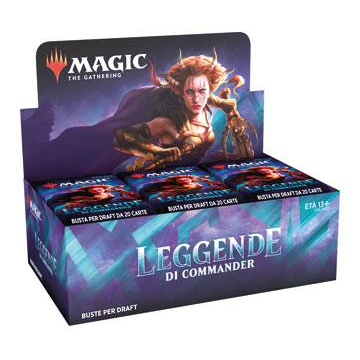 COMMANDER LEGENDS - BOX 24 BUSTE PER DRAFT - ITALIANO
