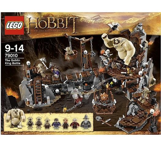 Lego lo hobbit la battaglia del re dei goblin - La battaglia dei cinque eserciti gioco da tavolo ...