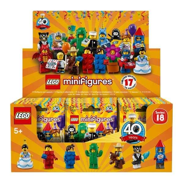 LEGO MINIFIGURES - SERIES 18 - BOX 60 BUSTE