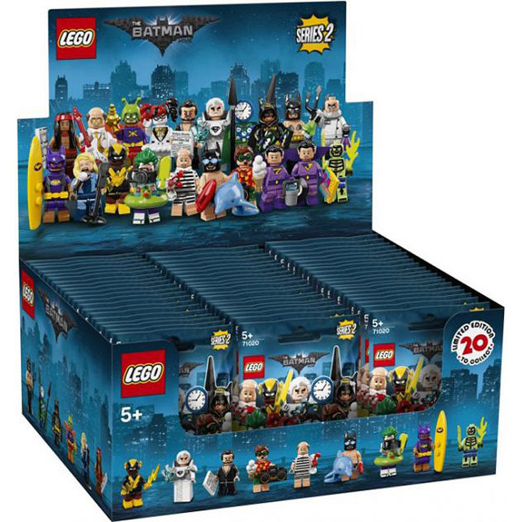LEGO MINIFIGURES - THE LEGO BATMAN MOVIE SERIE 2 - BOX 60 BUSTE