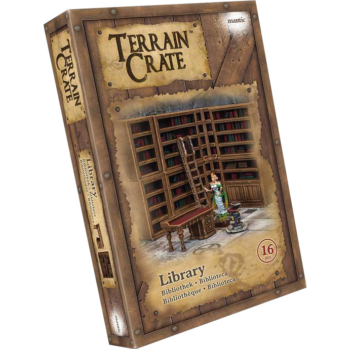 TERRAINCRATE - LIBRARY - ACCESSORI