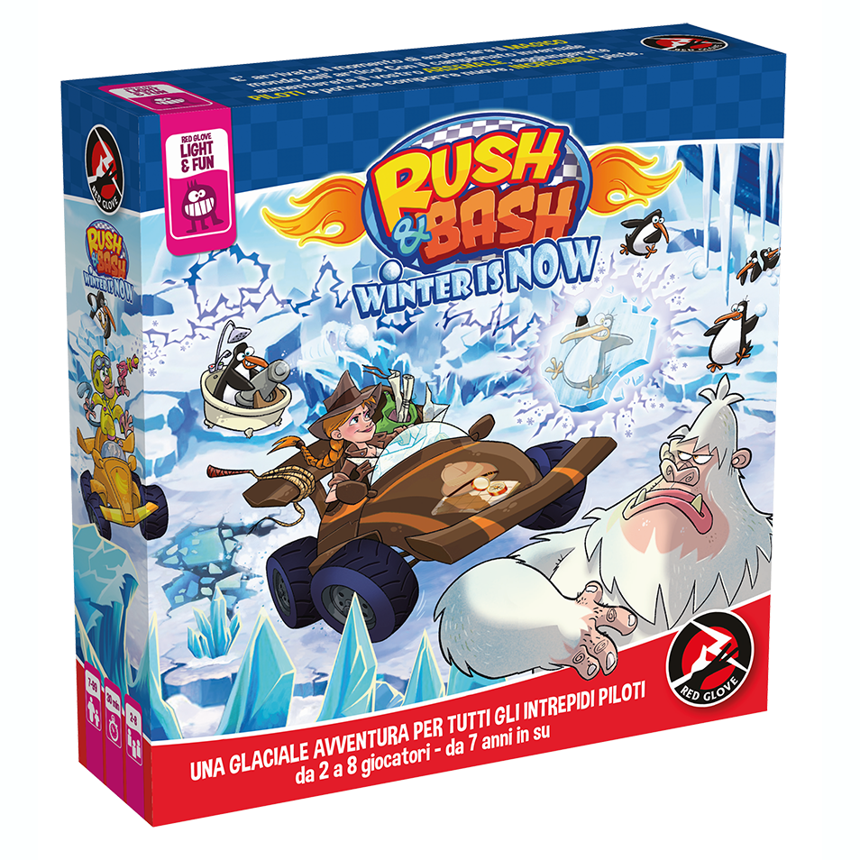 RUSH & BASH - WINTER IS NOW - ESPANSIONE IN ITALIANO