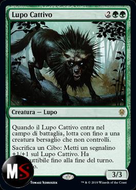 LUPO CATTIVO - FOIL