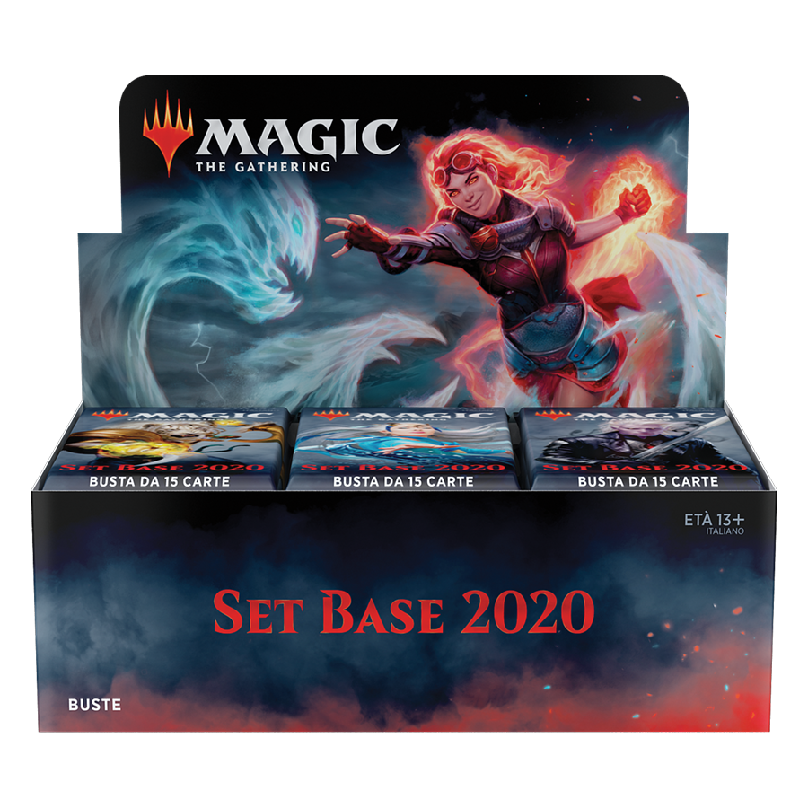 SET BASE 2020 - BOX 36 BUSTE ITALIANO