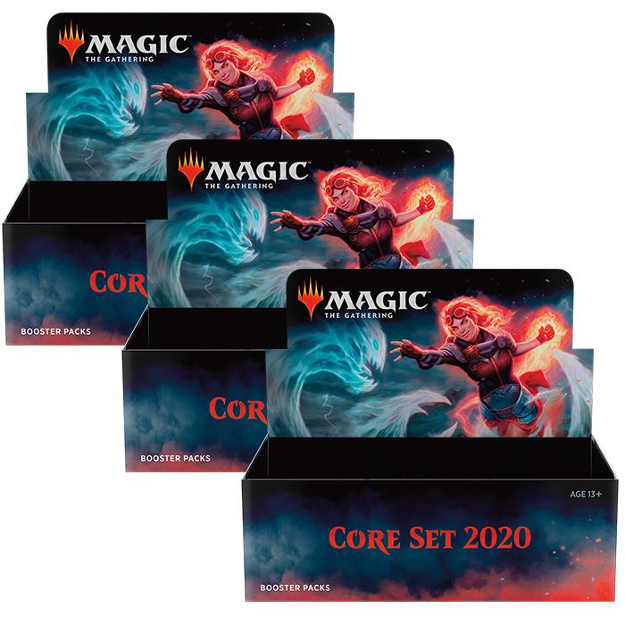 CORE SET 2020 - 3 BOX (MEZZA CASSA) INGLESE
