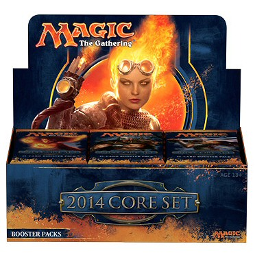 MAGIC 2014 SET BASE - BOX 36 BUSTE INGLESE
