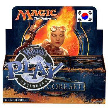 MAGIC 2014 SET BASE - BOX 36 BUSTE KOREANO