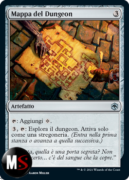 MAPPA DEL DUNGEON