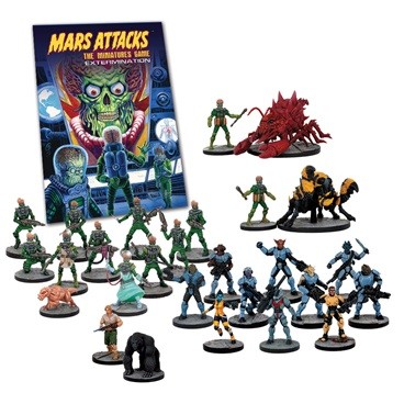 MARS ATTACKS - EXTERMINATION - ESPANSIONE