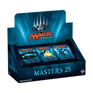 MASTERS 25 - BOX 24 BUSTE INGLESE