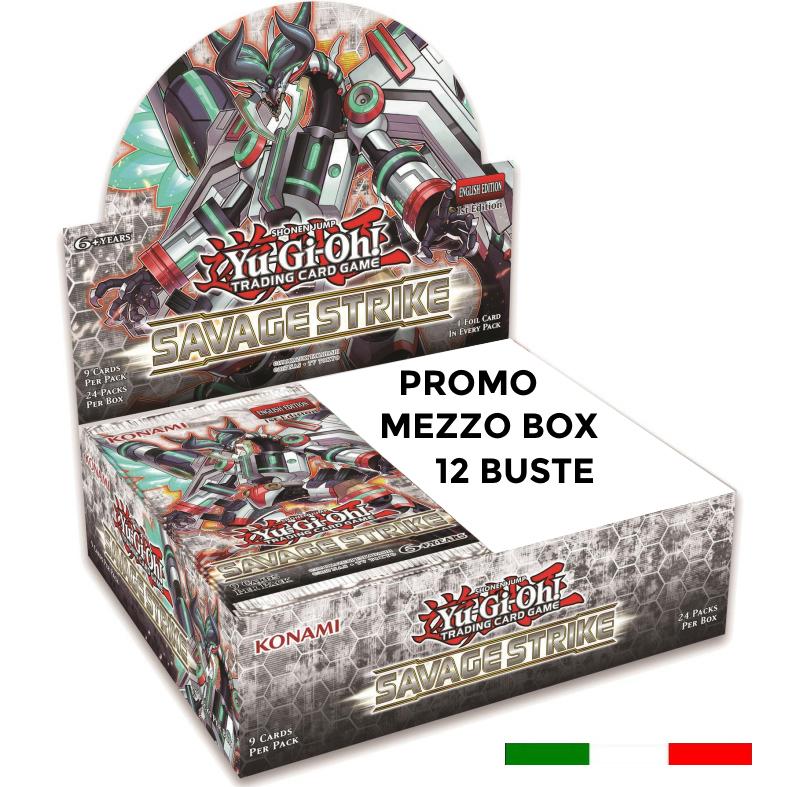 ATTACCO SELVAGGIO - MEZZO BOX 12 BUSTE ITA