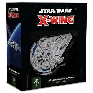 STAR WARS X-WING MILLENIUM FALCON DI LANDO SECONDA ED.