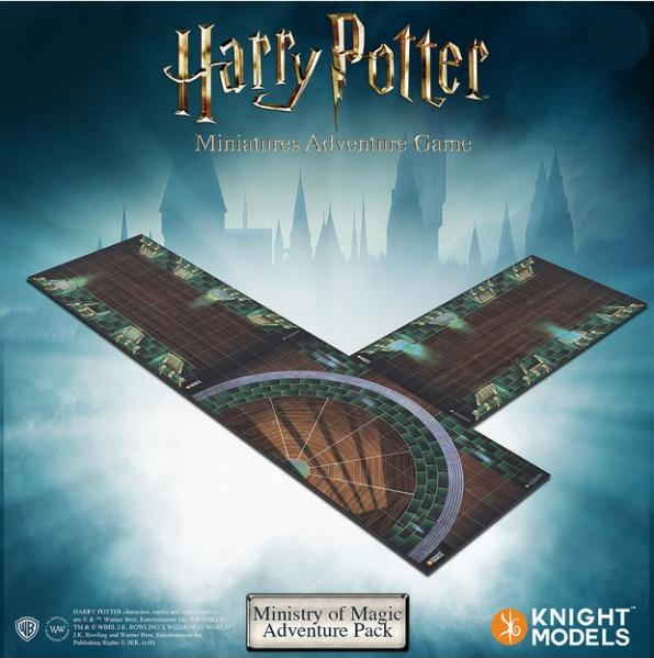 HP MINISTRY OF MAGIC ADVENTURE PACK MINIATURE ADVENTURE GAME
