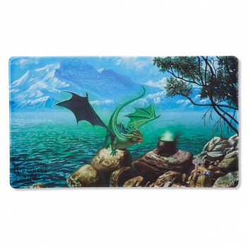 DRAGON SHIELD PLAYMAT - MINT BAYAGA (LIMITED EDITION)