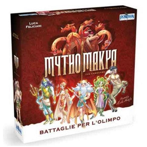 MYTHOMAKYA - BATTAGLIE PER L'OLIMPO
