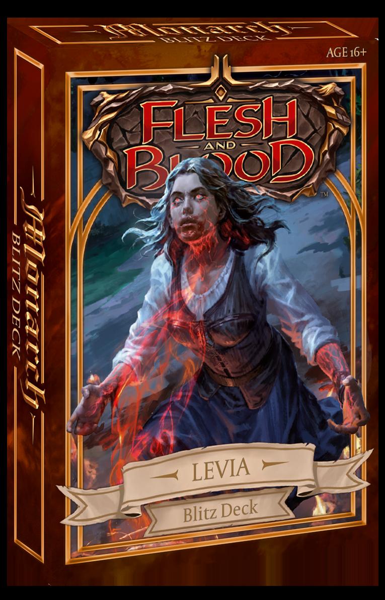 FLESH & BLOOD TCG: MONARCH BLITZ DECKS - DECK LEVIA