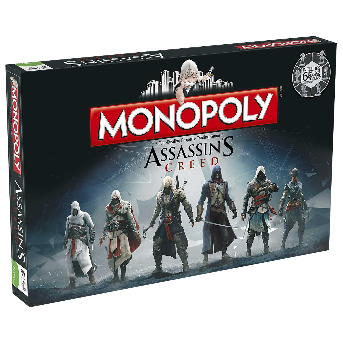 MONOPOLY - ASSASSIN'S CREED - ITALIANO