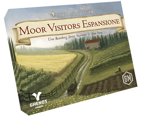 VITICULTURE ESSENTIAL: MOOR VISITORS - ITALIANO