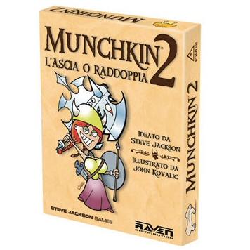 MUNCHKIN 2  L'ASCIA O RADDOPPIA