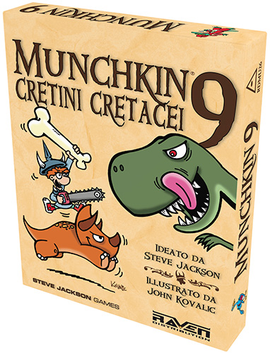 MUNCHKIN 9 - CRETINI CRETACEI