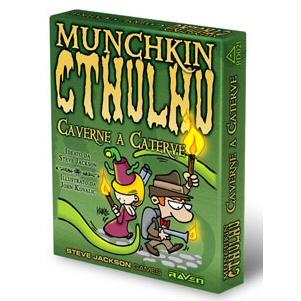 MUNCHKIN CTHULHU - CAVERNE A CATERVE