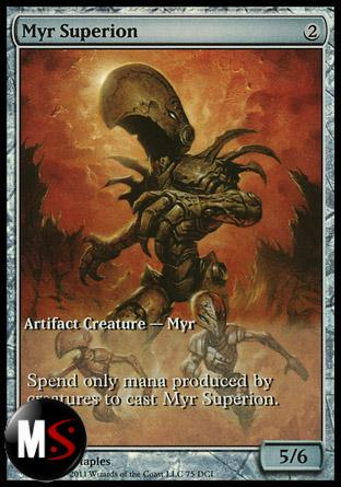 MYR SUPERION (GAMES DAY EXTENDED ART FOIL)