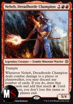 NEHEB, CAMPIONE DELL'ORDA ATROCE