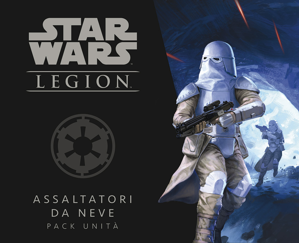 STAR WARS: LEGION - ASSALTATORI DA NEVE PACK UNITA'