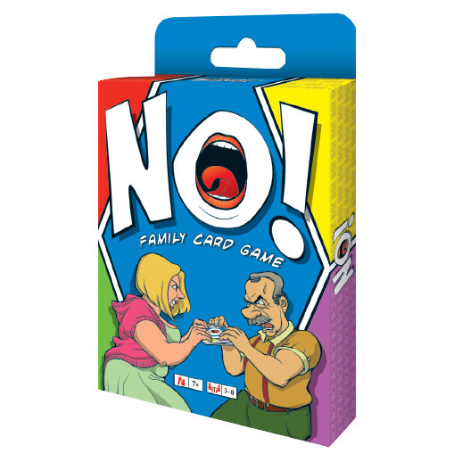 NO! FAMILY CARD GAME