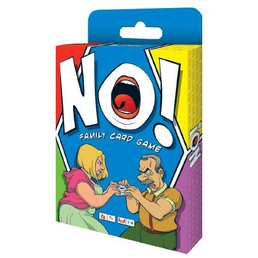 NO! FAMILY CARD GAME