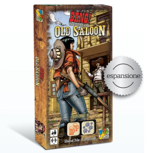 BANG! - THE DICE GAME - OLD SALOON - ESPANSIONE