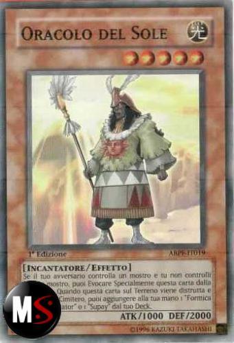 ORACOLO DEL SOLE